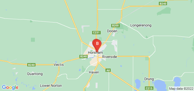 Google static map for Horsham