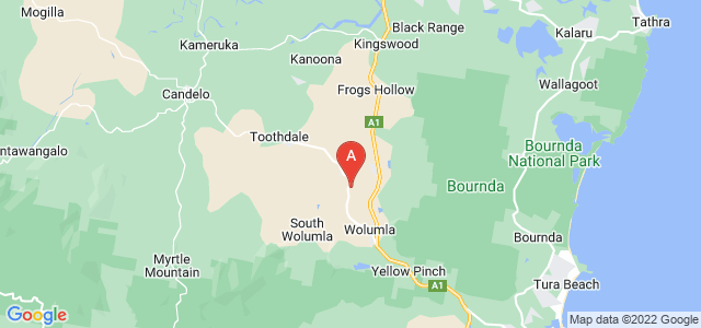 Google static map for Wolumla