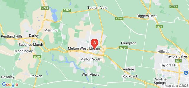 Google static map for Melton