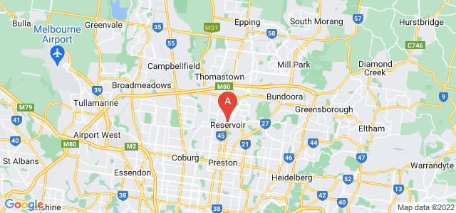 Google static map for Reservoir