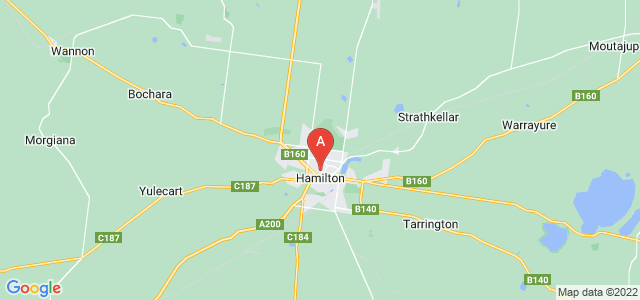 Google static map for Southern Grampians