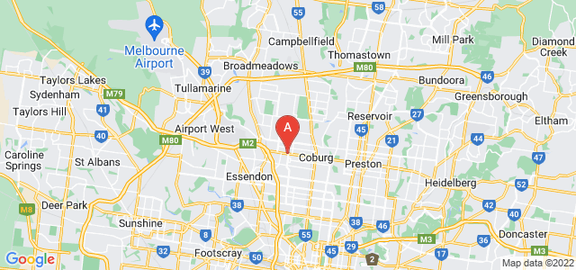 Google static map for Moreland