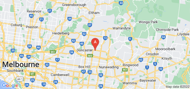 Google static map for Doncaster East