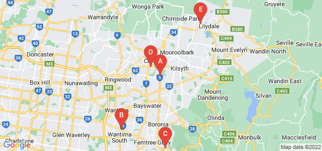 Google static map for Outer East