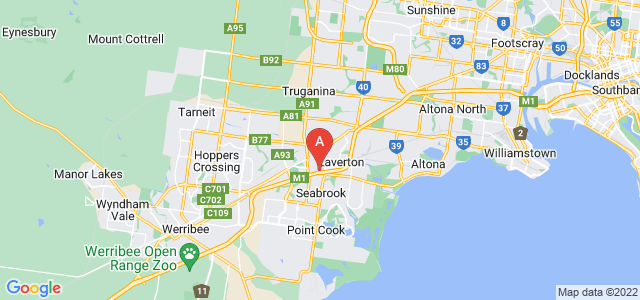 Google static map for Laverton