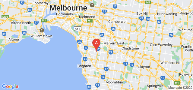 Google static map for Inner South
