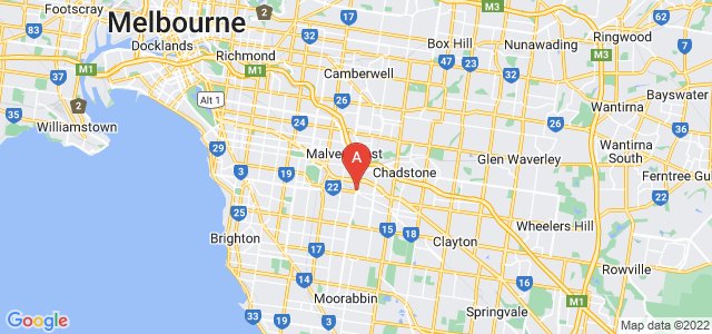 Google static map for Murrumbeena
