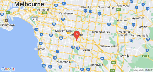 Google static map for Oakleigh