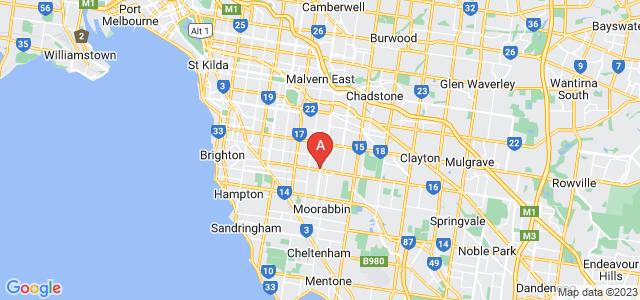 Google static map for Glen Eira