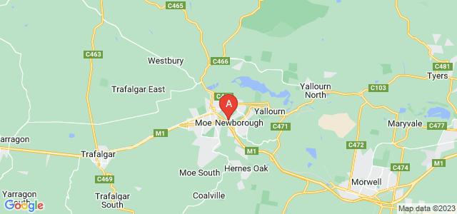 Google static map for Newborough