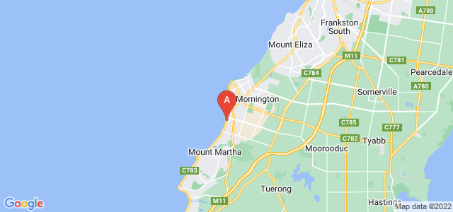 Google static map for Mount Martha