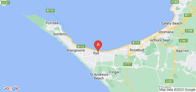 Google static map for Rye