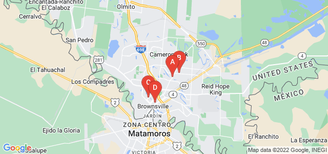 Google static map for Brownsville