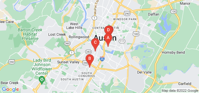 Google static map for Austin
