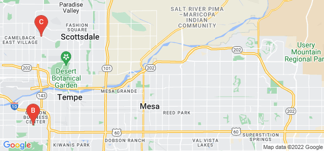 Google static map for Phoenix