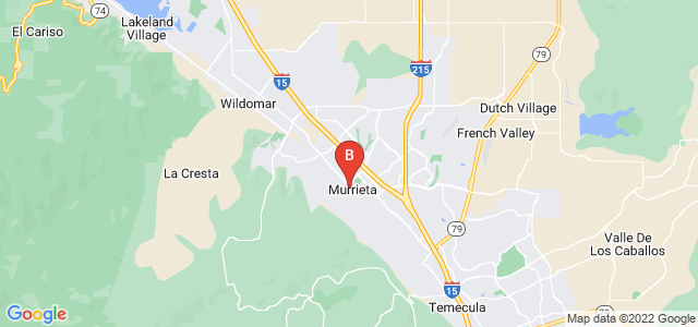 Google static map for Murrieta