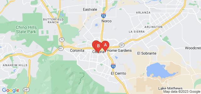 Google static map for Corona