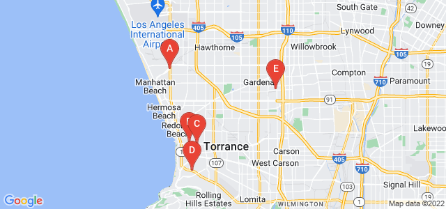 Google static map for Los Angeles