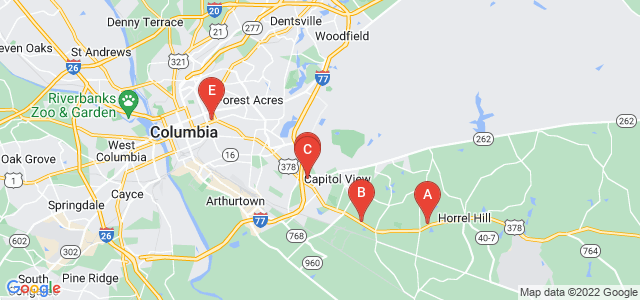 Google static map for Richland County