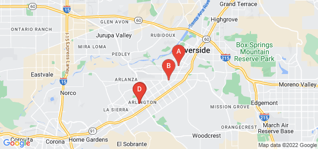 Google static map for Riverside