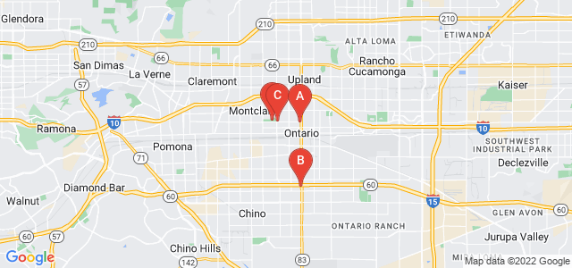 Google static map for Ontario