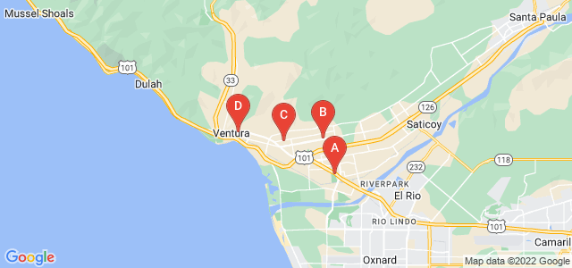 Google static map for Ventura