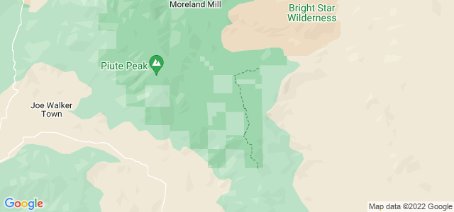 Google static map for Kern County