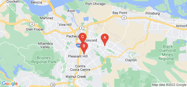Google static map for Concord
