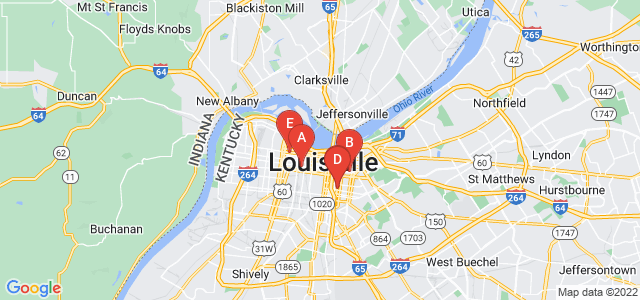Google static map for Louisville