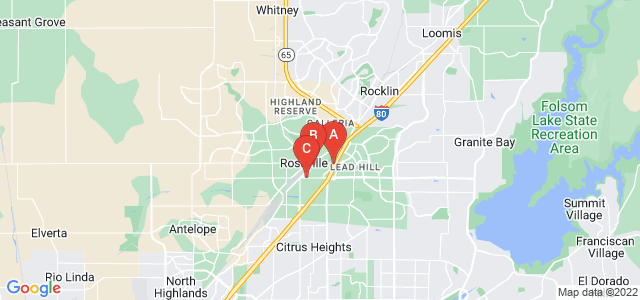Google static map for Roseville