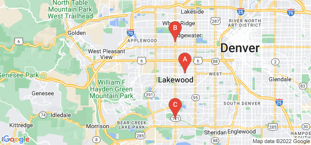 Google static map for Jefferson County