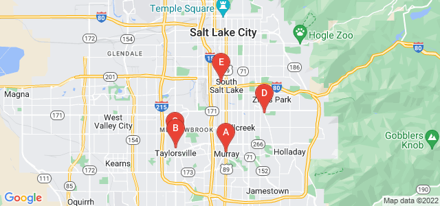 Google static map for Salt Lake City