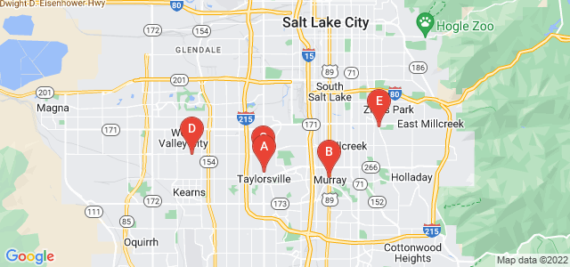 Google static map for Salt Lake City