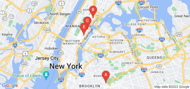 Google static map for Manhattan