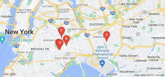 Google static map for Brooklyn