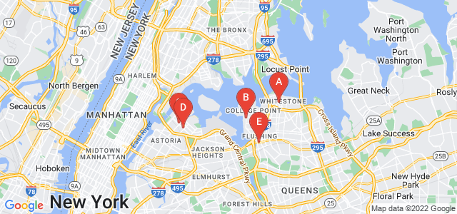 Google static map for Queens