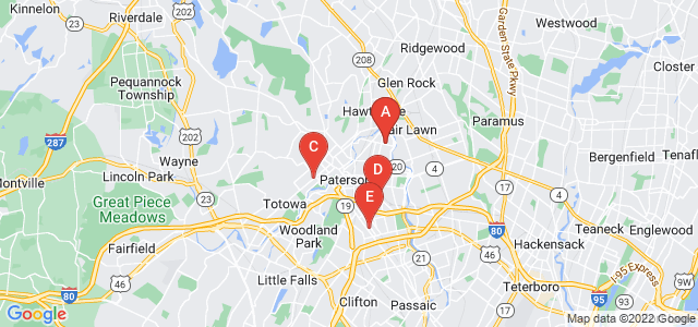 Google static map for Paterson