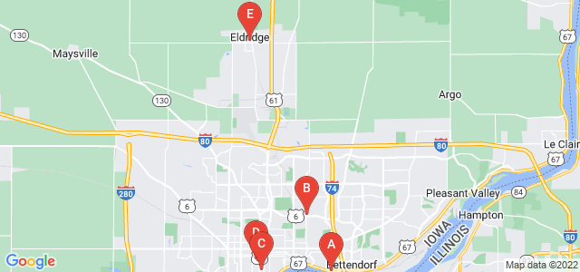 Google static map for Scott County