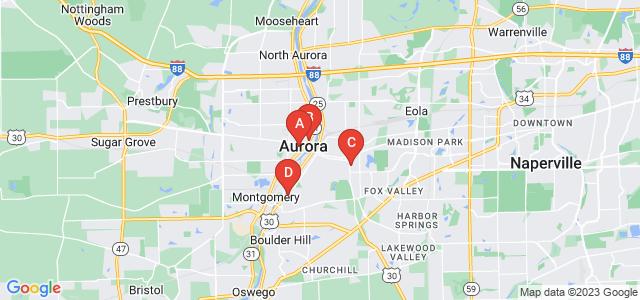 Google static map for Aurora