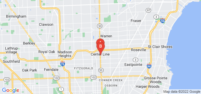 Google static map for Center Line