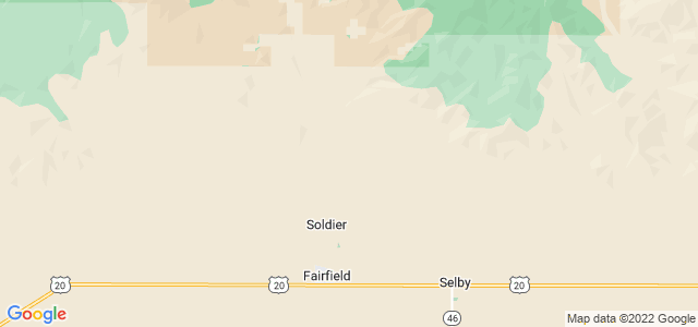Google static map for Idaho