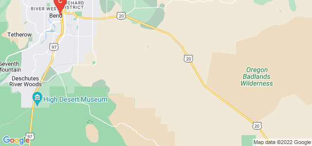 Google static map for Oregon