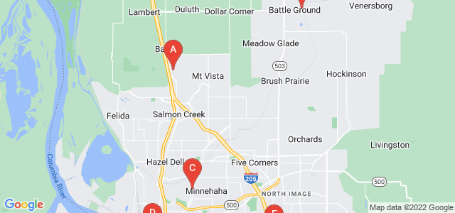 Google static map for Clark County
