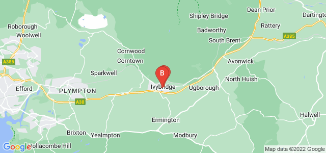 Google static map for Ivybridge