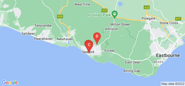 Google static map for Seaford