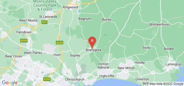 Google static map for Christchurch