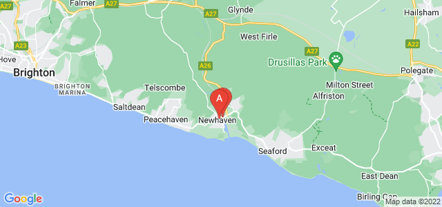 Google static map for Newhaven