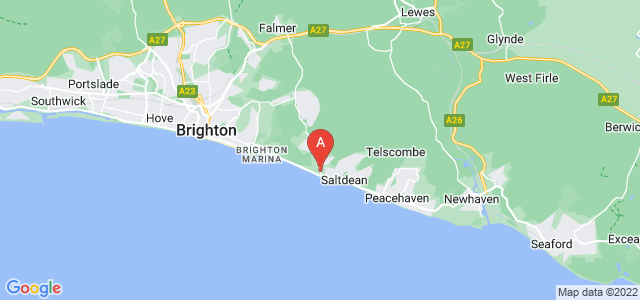 Google static map for Rottingdean