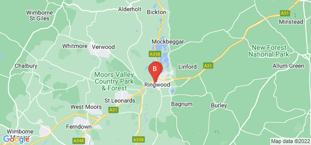 Google static map for Ringwood