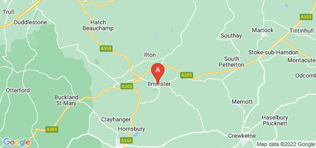 Google static map for Ilminster